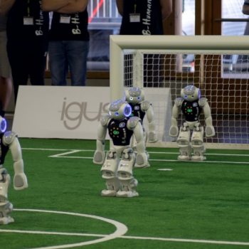 RoboCup German Open 2018: B-Human wird Dritter in Magdeburg