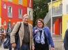Bunter Modulbau in Findorff: Übergangswohnheim bietet Platz für 100 Menschen