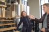 Spekulatiusbier zu Weihnachten? - Bürgermeisterin Karoline Linnert besichtigt Union-Brauerei in Walle